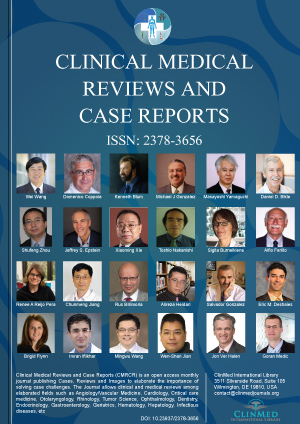 Clinical Medical Reviews and Case Reports | Clinmed International