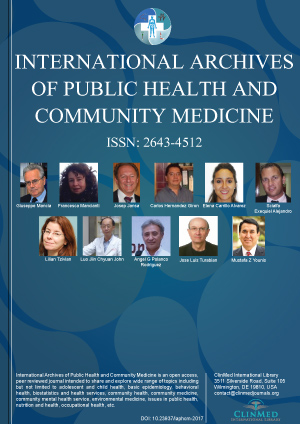 International Archives of Public Health and Community Medicine