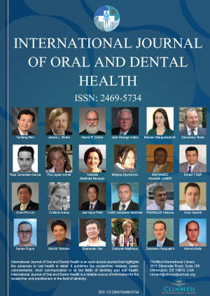 International Journal of Oral and Dental Health | Clinmed ...