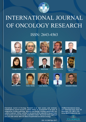 International Journal of Oncology Research | Clinmed