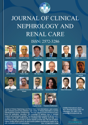 Journal of Clinical Nephrology and Renal Care | Clinmed