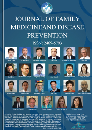Journal of Family Medicine and Disease Prevention | Clinmed